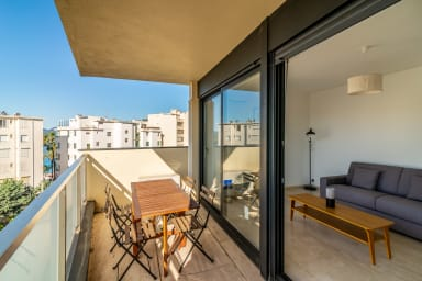 La Croisette and Beach Studio by easyBNB