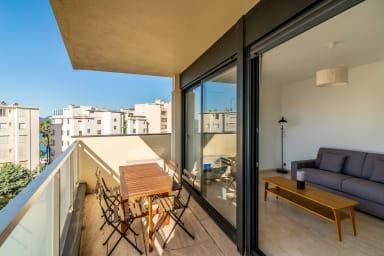 Cannes - Studio parfaitement situé à côté de la Croisette et de la plage