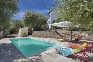 Villa Le Corps de Garde avec piscine et jardin de 1200m2