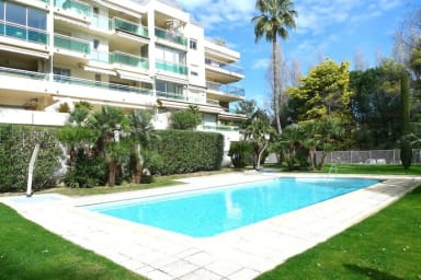 T3 spacieux avec piscine et garage à Cannes, proche plage et Croisette