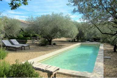 Maison d architecte, piscine chauffée, air conditionné, 10 mm Lourmarin