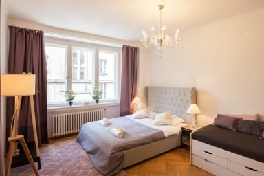 First republic styled 4 BR apartment in Prague 1 near river by easyBNB