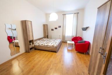 Appartement d'une chambre dans un quartier agréable près du parc Stromovka