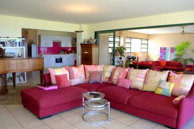 Sunset Pearl Apartment - Punaauia- Tahiti - pool & Moorea view 2 bdr- 4 per