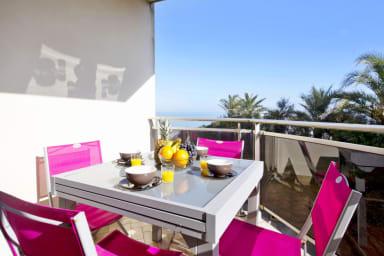 T2 calme avec terrasse et vue imprenable sur l'océan à Biarritz - Welkeys
