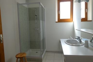 Salle de bail du RDC - Location Les Joubarbes à Névache