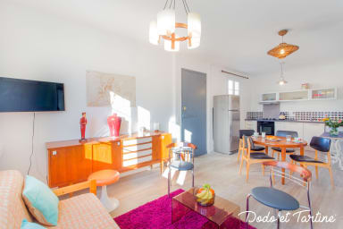 Spacious 2 bedroom with terrace - Dodo et Tartine