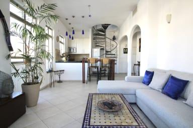 Ha-Shomer 6/18 - Nachlat Binyamin Duplex amazing View-Carmel Market-Terrace