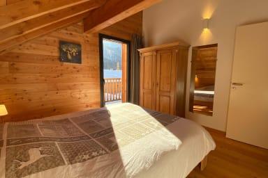 chambre plein sud avec balcon