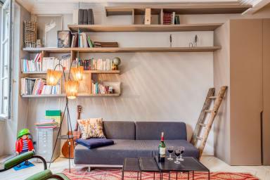Cosy Designer 1BR Apartment in Le Marais