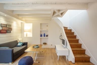 Modern and comfortable duplex in the heart of the Basque coasts