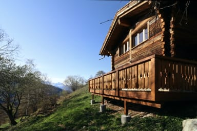 Comfortable chalet in the heart of nature, calm and peaceful