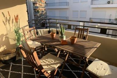 Cannes Rue d'Antibes, 2 pièces balcon plein sud - Premium Rénovation 2019