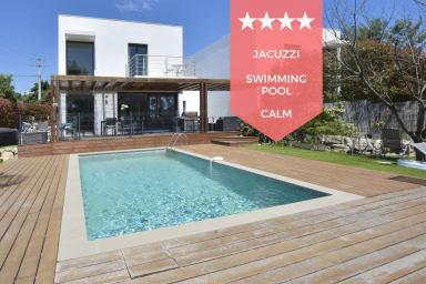 ☀️ RARE - Villa contemporaine avec piscine & jacuzzi, 10 min des plages !☀️
