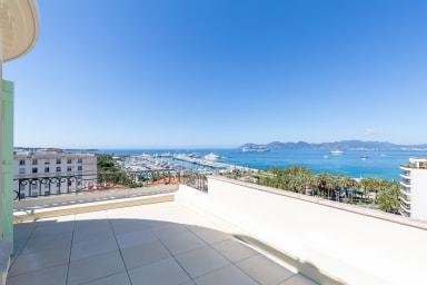 VANEAU ☀️ Luxueux 3P vue mer incroyable, proche croisette