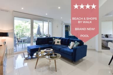 ☀️FRENCH RIVIERA ☀️ Apartment in residential property with swimming pool