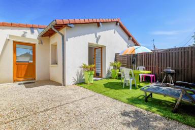 Maison de charme 2** avec terrasse proche de la gare de Cabourg – Welkeys