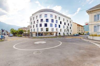 Eingerichtetes Studio #201 - Swiss Resort Aigle