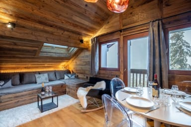 Cosy skis aux pieds appartement 4 pers