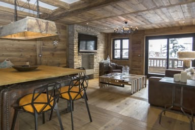 Apartement Coquelicot, Hip, spacious and contemporary chalet