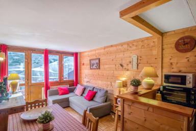 Large 1br flat at the heart of La Mongie, in a ski-in residence - Welkeys