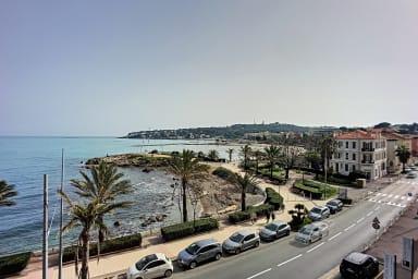 (027) Exceptionnel 2P Design Vue Mer Panoramique Clim & Balcon Plage à 50m