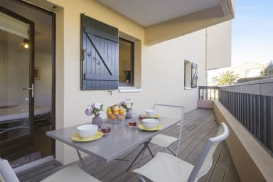 Charming studio with terrace at 200 m from the beach in Anglet - Welkeys