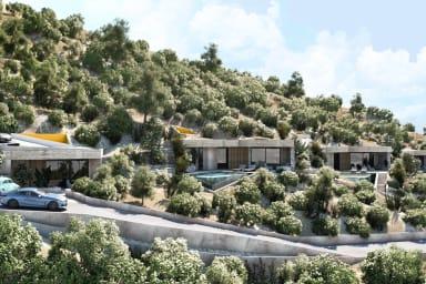 Villa Sakura - New luxury villa with amazing sea view - OPENING JUNE 2021!
