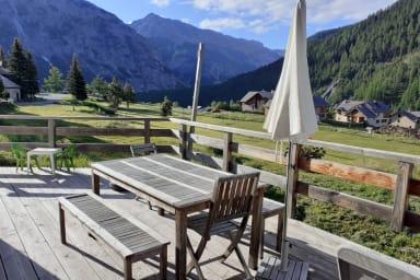 NOUVEAU Chalet le Guiau 6/7 pers. Hameau des Thures Nevache Hautes Alpes