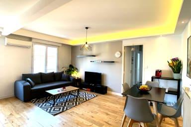 Appartement design dans le centre ville d'Antibes