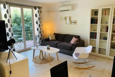 Bnb Renting: bright design flat, center of Antibes