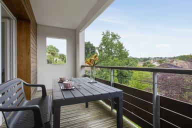 Lumineux appartement avec balcon et garage à Anglet - Welkeys