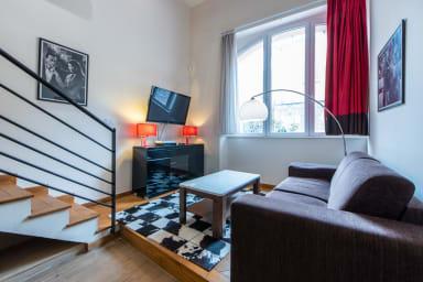 IMMOGROOM - Beautiful duplex - modern - A/C- Le SUQUET- CONGRESS/BEACHES