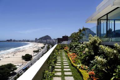 Luxury penthouse rental - rio de janeiro - Terrace