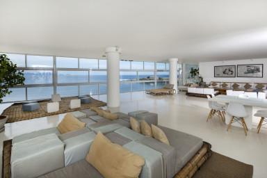 holiday apartment rental - Rio de Janeiro - Living room - La Panoramica