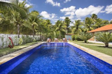 luxury villa holidays in Taiba - Swimming pool  - A Vida é Um Carnaval