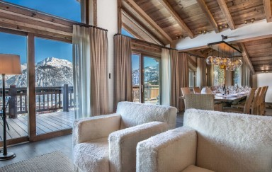 ski holidays france - Courchevel - Living room - Chalet Cryst'Aile