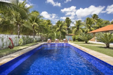 luxury villa holidays in Taiba - Swimming pool  - A Vida é Um Carnaval