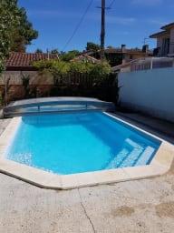 Appartement à la jetée et au centre d'Andernos les bains avec piscine