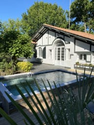 Renovated house with swimmingpool in Andernos 10 people