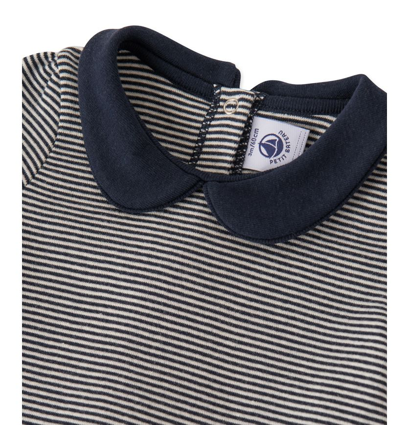 Baby girls' milleraies-striped dress