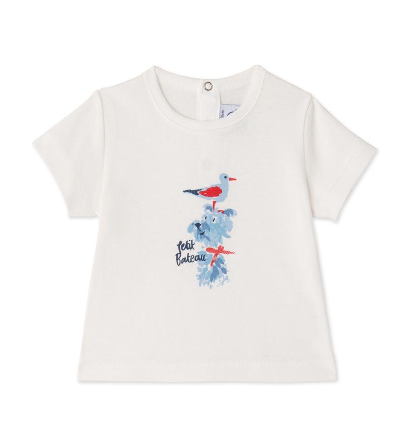 Baby boys' silkscreen print T-shirt