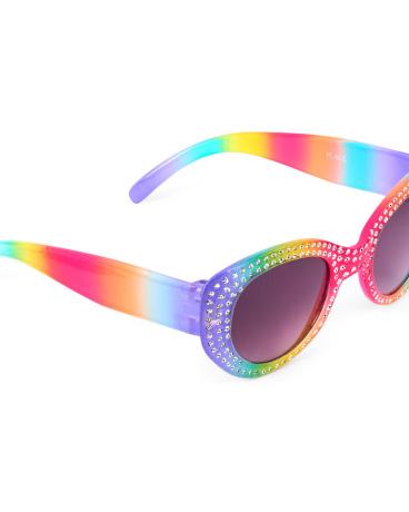 Toddler Girls Rhinestone Sunglasses