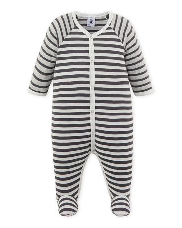 Baby boy's striped sleeper
