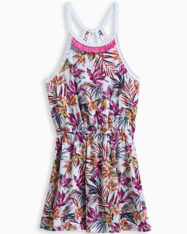 Girl Allover Print Dress