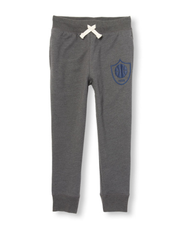 Boys Active Graphic Fleece Jogger Pants