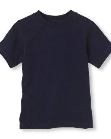 Toddler Boys Short Sleeve Basic Tee