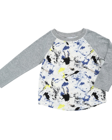 Asher Paint Splatter Top