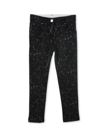 Nina Splatter Print Jeans