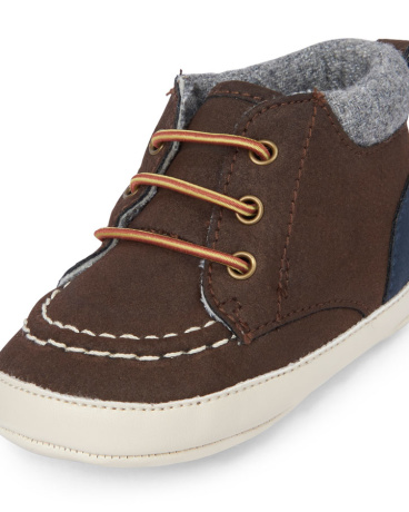 Baby Boys Mid-Top Casual Shoe